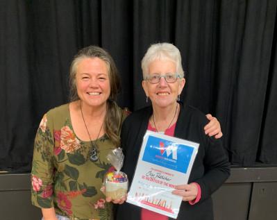 Volunteer of the Month - Joy Fletcher