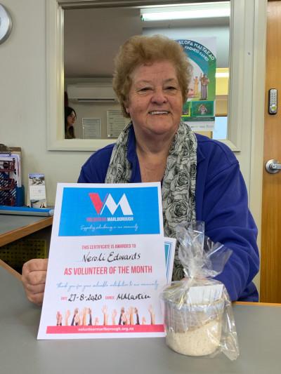 Volunteer of the Month - Neroli Edwards