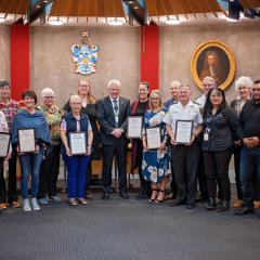 Community Volunteer Awards - and the winners are....