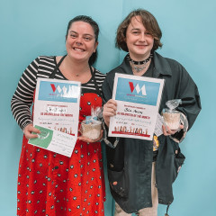 YOUTH WEEK - Volunteers of the Month - Jess Bright & Blu Avery